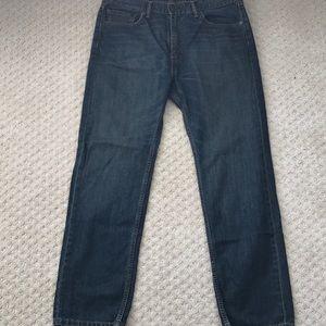 Levi 505 jeans - size 38w 32l